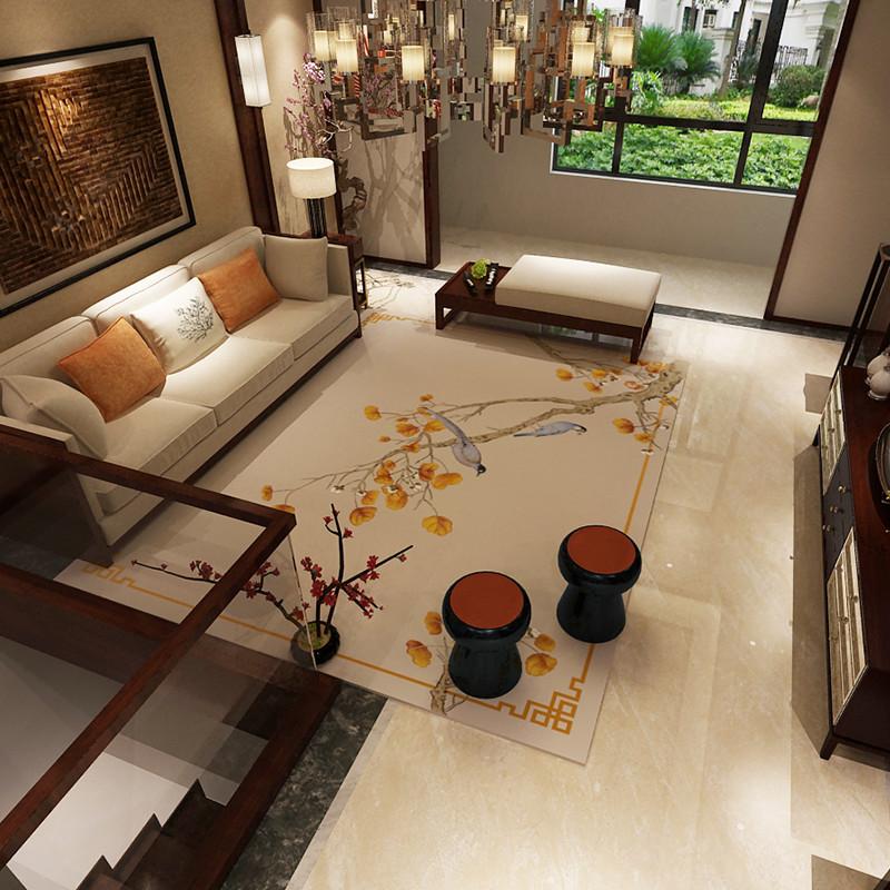 心艺 中式客厅地毯 40*60cm 7.9元包邮