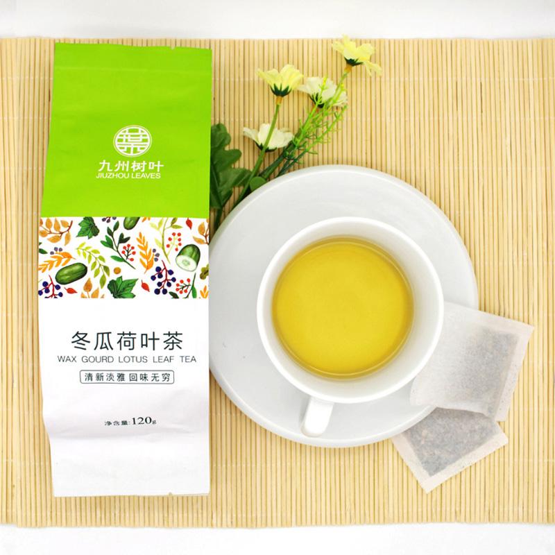 九州树叶 冬瓜荷叶茶 120克 6.9元包邮