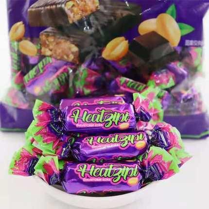 【年货必囤】俄罗斯风味紫皮糖巧克力500g券后【13.8元】包邮