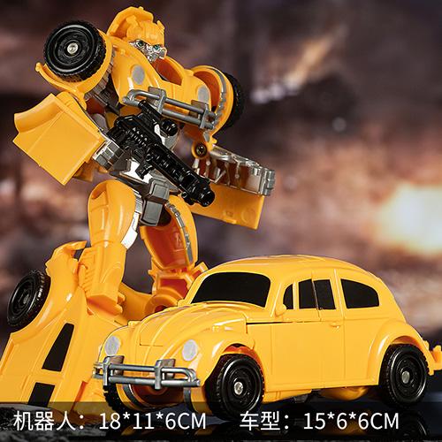 变形玩具大黄蜂汽车机器人 券后9.9元起包邮