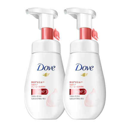 Dove/多芬 氨基酸洁面慕斯 160ml*2瓶 69元包邮