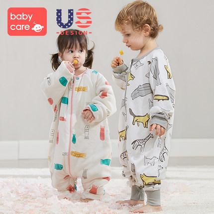 双11预售:BabyCare 婴儿夹棉睡袋 159.3元包邮(前1小时)