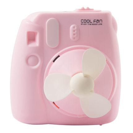 小班长 USB小风扇 卡通相机造型 800mAh可充电 13.8元包邮