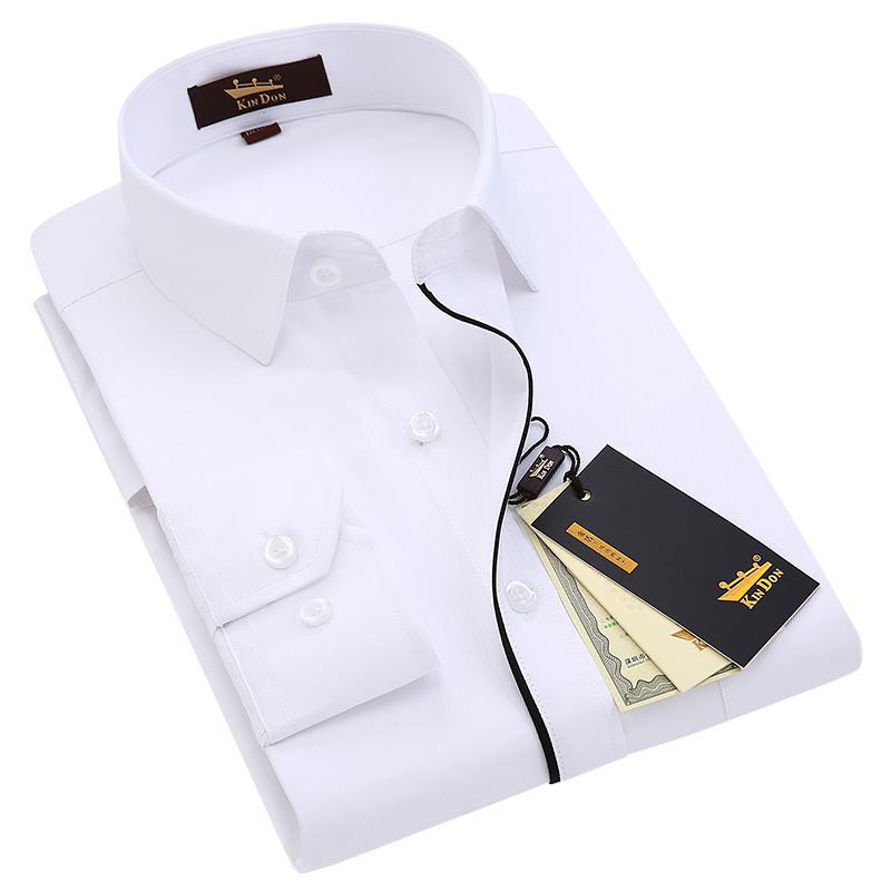 KIN DON/金盾 男士 长袖衬衫 2件 66元包邮(折合33元/件)