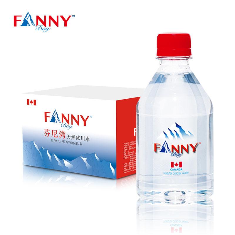 芬尼湾 冰川 弱碱矿泉水 350毫升*12瓶 19.9元包邮