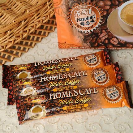 马来西亚进口 故乡浓 榛果味白咖啡 600g 15元包邮