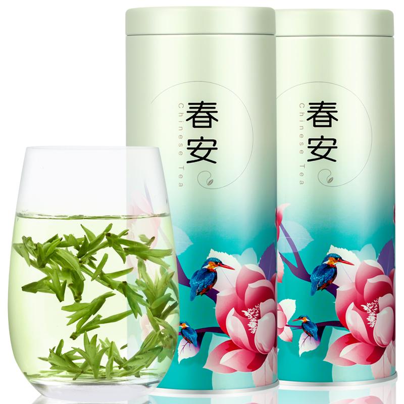 【春安】浓香型龙井茶叶绿茶50g 券后5.9元包邮