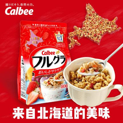 卡乐B 北海道 富果乐 水果麦片 800克,¥60