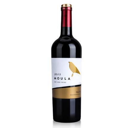 慕拉半甜/干红葡萄酒750ml 9.9元包邮