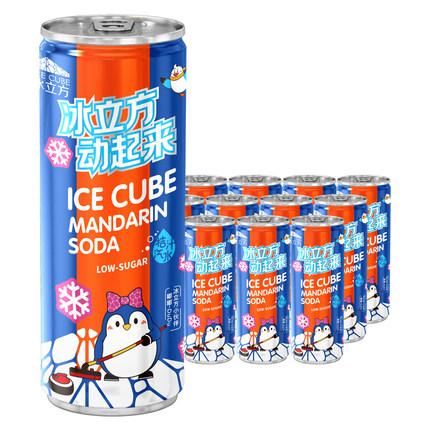 北冰洋 桔汁汽水 248ml*12听 54元包邮