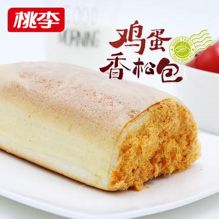 桃李 鸡蛋香松面包 600g 21.9元包邮
