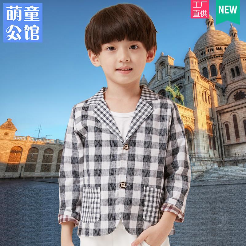 儿童 棉麻 西装外套 19.8元包邮