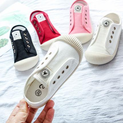 CESHOESES 儿童 帆布鞋 39.9元包邮