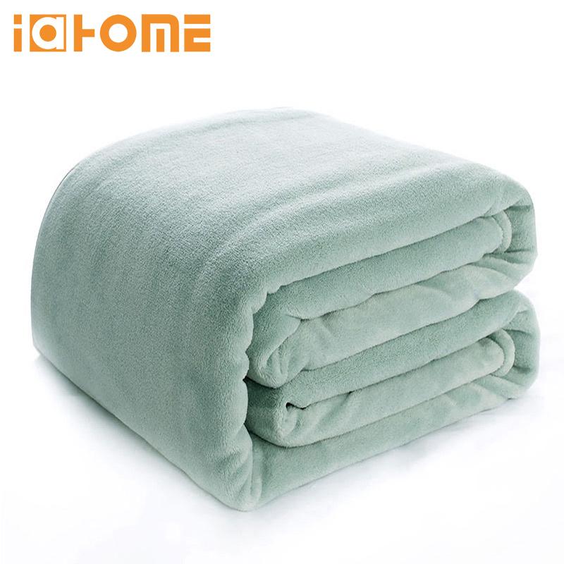 法兰绒毛毯空调毯100*150cm 券后9.9元包邮