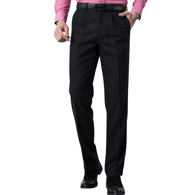红豆男士羊毛西裤,含羊毛50%,券后79元包邮